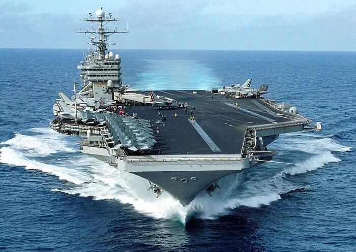 nükleer uçak gemisi