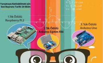 Arduino ve Raspberry Pi Ödüllü yarışma