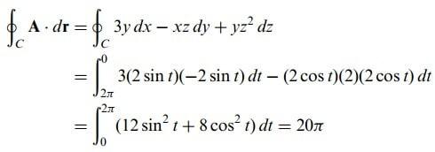 stokes teoremi formül