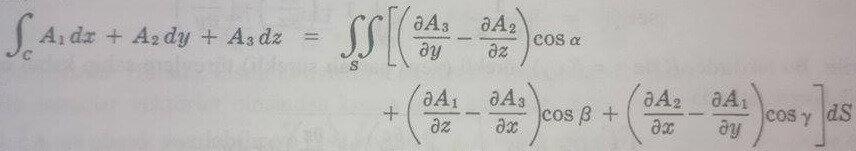 stokes teoremi