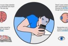 gece telefonla uyumanın zararları nelerdir