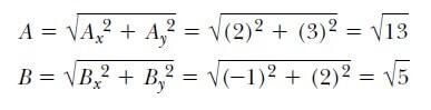 vektörlerin skaler çarpımı