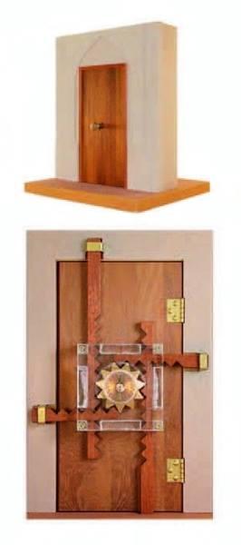 El Cezeri'nin dört sürgülü kapı kilidi