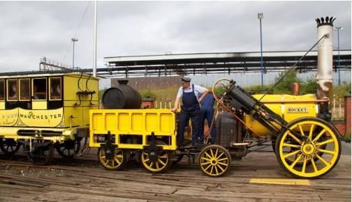 Rocket lokomotifinin National Railway Museum'daki örneği