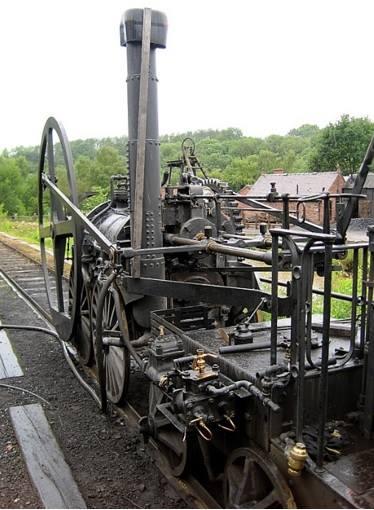 Tram-Waggon'un Ironbridge Gorge Museum'daki örneği