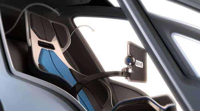 drone taksi içi