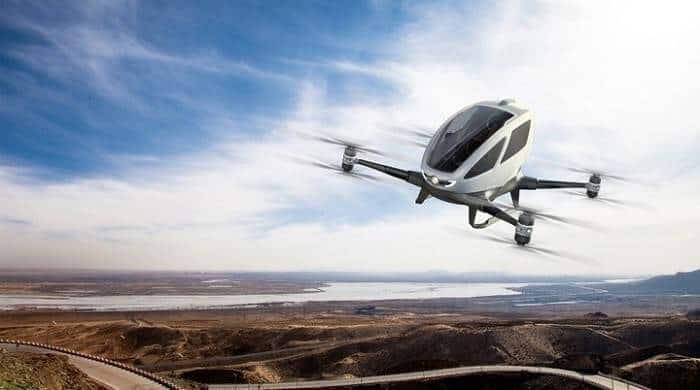 drone taksi