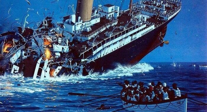 titanik neden battı
