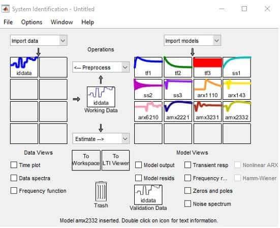 Farklı metodlarla elde edilen sistem modelleri