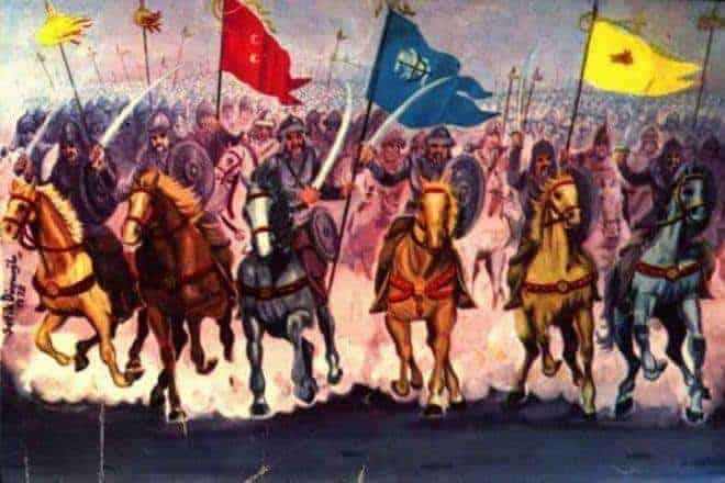 islamiyet öncesi türk tarihi hakkında