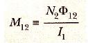 karşılıklı indüktans formülü