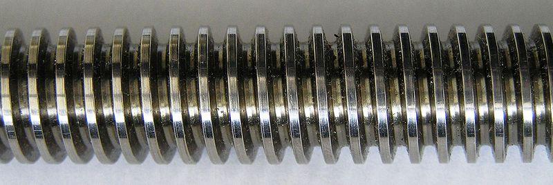 29° Trapez Vida: Diş açısı 29° olan, çapların adımları 25,4 mm'deki vida dişi sayısı olarak belirtilen vidalardır.