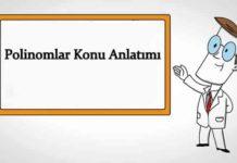 Polinomlar Konu Anlatımı