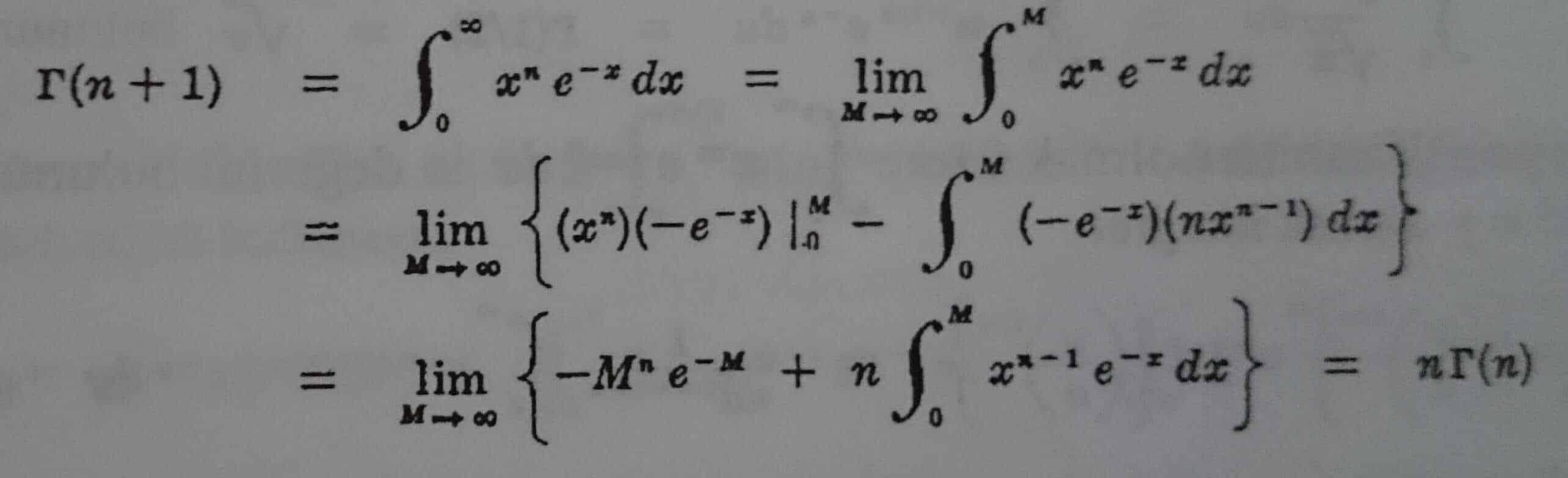 gama fonksionu ile ilgili örnek