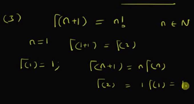gama fonksiyonu ve özellikleri