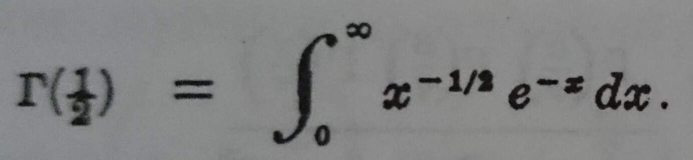 gamma fonksiyonun