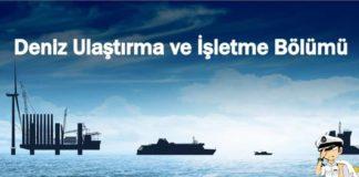 Deniz Ulaştırma ve İşletme Bölümü Nedir