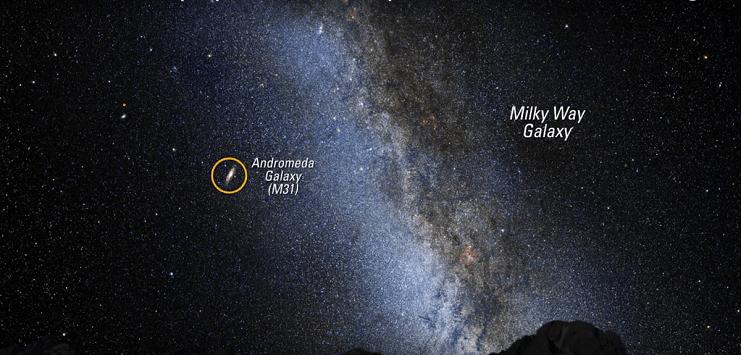 andromeda-samanyolu-galaksilerinin-carpismasi
