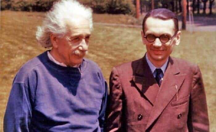 Gödel ve albert einstein