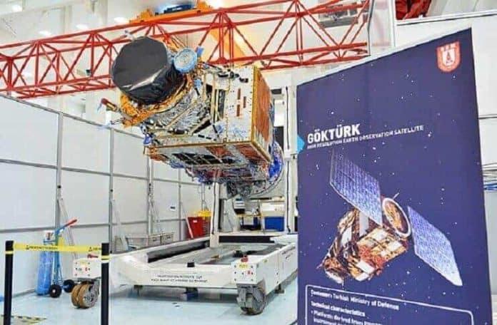 göktürk 1 uydusu