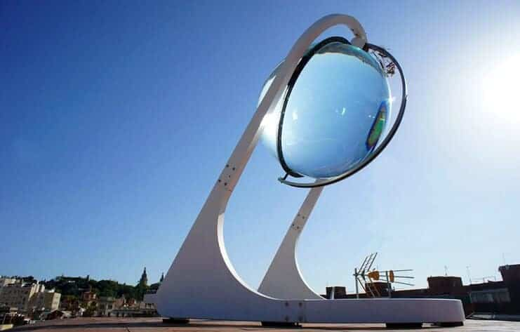 güneş enerjisi küresi