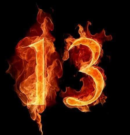 uğursuz sayı 13