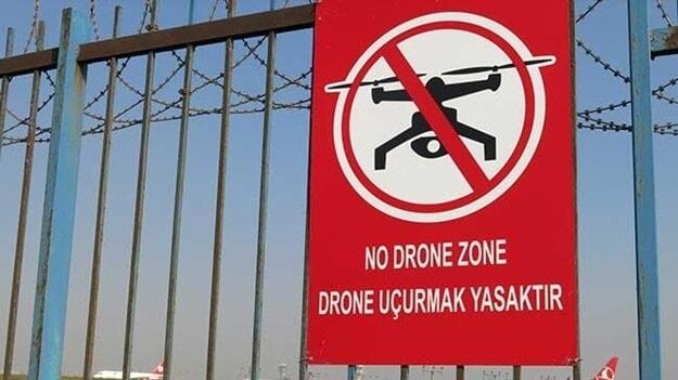 drone uçurmak yasaj