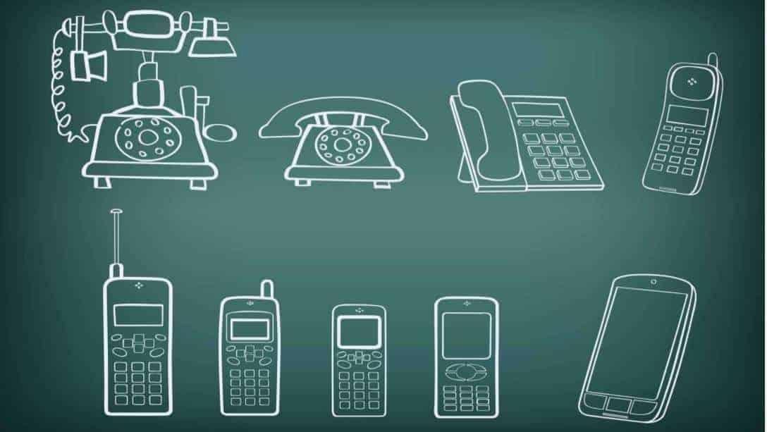 telefonların gelişimi