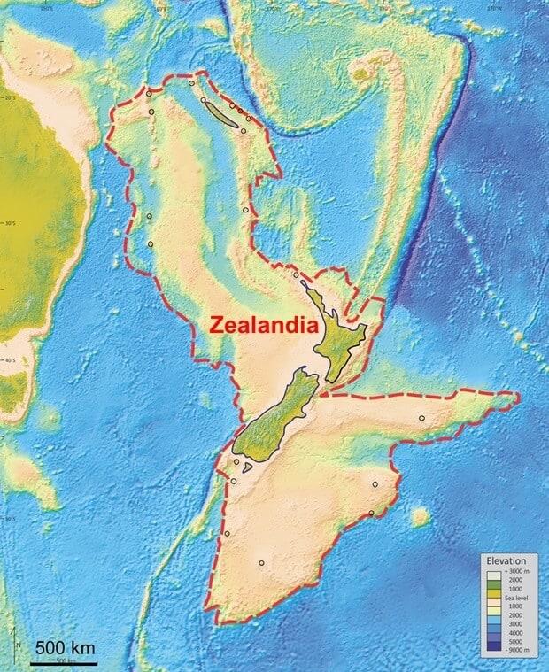 Zelandiya'nın Keşfi