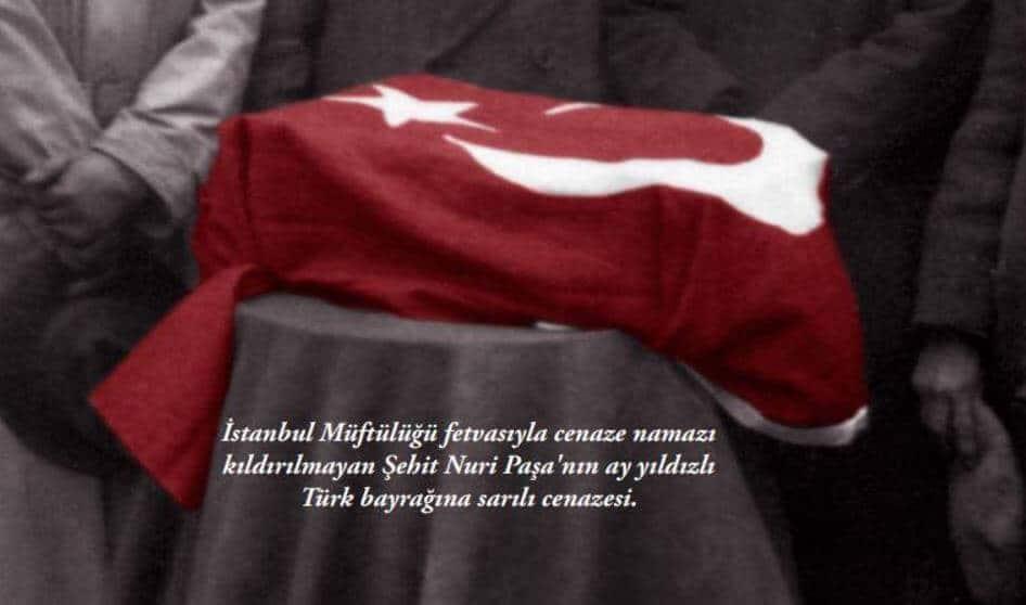 Nuri Killigil Paşa cenazesi