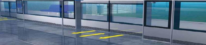 Platform kapı sistemi