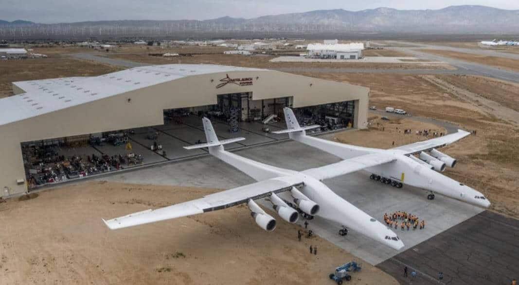 Dünya'nın En Büyük Uçağı Stratolaunch System