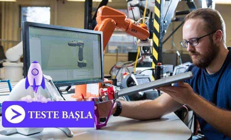 Makine Mühendisleri için Test