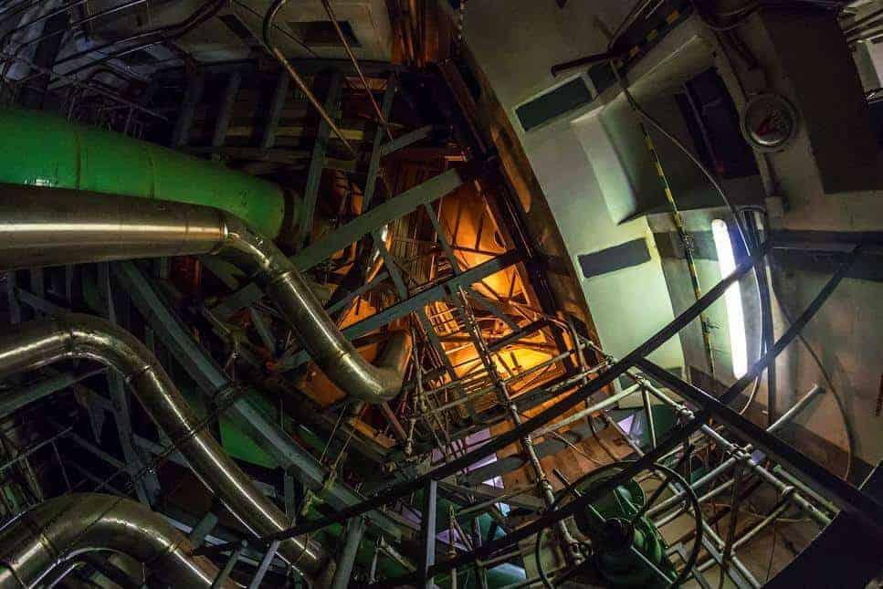 nükleer enerji santrali reaktör odası