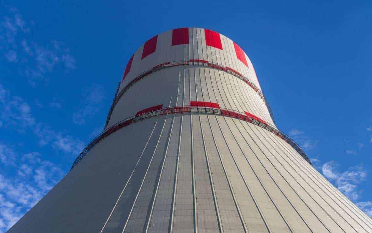 nükleer santral soğutma kulesi
