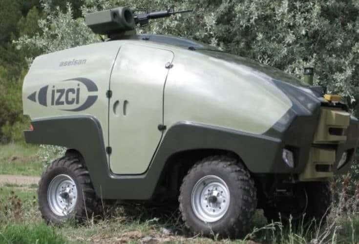 Tekerlekli İnsansız Kara Aracı