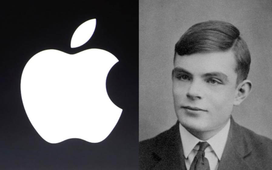 Alan Turing ve Apple Logosu