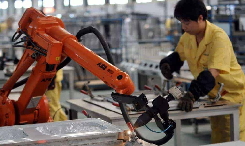 robot işçiler