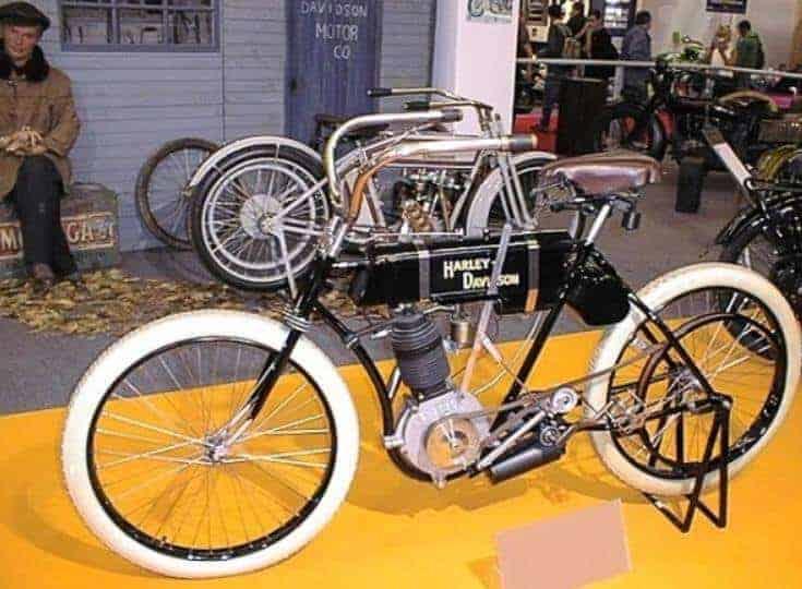 Harley Davidson'un ilk aracı