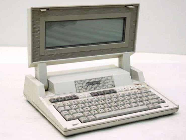 HP'nin ilk dizüstü bilgisayarı