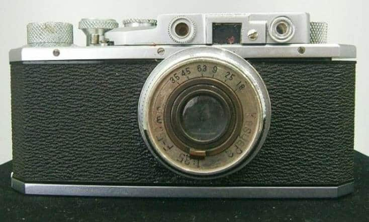 İlk Canon fotoğraf makinesi