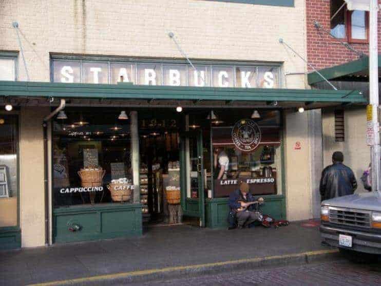 İlk Starbucks dükkanı