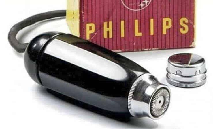 Philips'in ilk tıraş makinesi