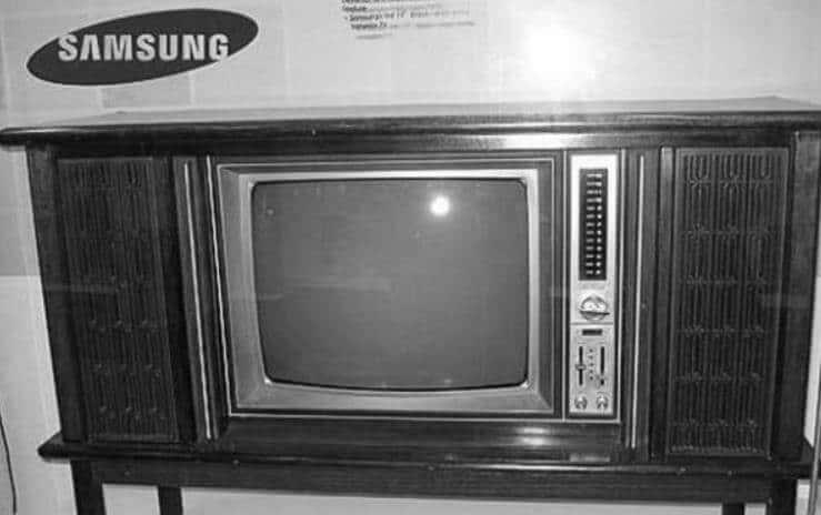Samsung'un ilk televizyonu