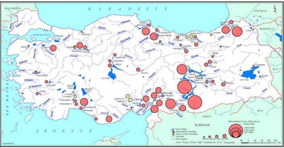 Türkiye Hidroelektrik Santralleri
