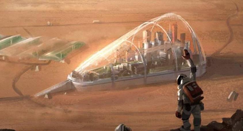 Mars Şehir Kolonisi Nedir