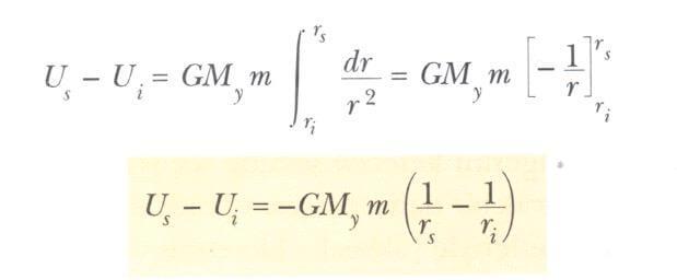 Kütle-çekimi potansiyel enerjisindeki değişme