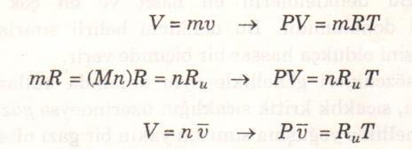 Mükemmel gaz hal denklemi