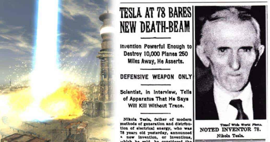 Tesla'nın Ölüm ışını