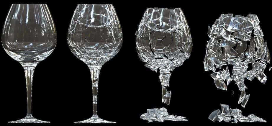 bardağın kırılması